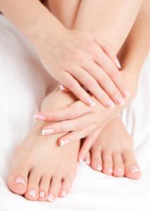 Mani e piedi in chemioterapia